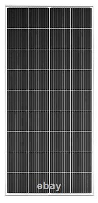 Deux (2) Panneaux Solaires Monocristallins Sps 200 Watt 18v À Haute Efficacité