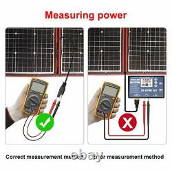 Dokio 220 Watts 12 Volts Panneau Solaire Pliable Monocristallin Avec Charge Con