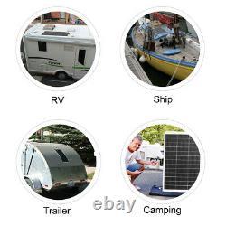 Eco 130w Watt 100w 12 Volts Mono Flexible Panneau Solaire Pour Rv Bateau Camping À La Maison