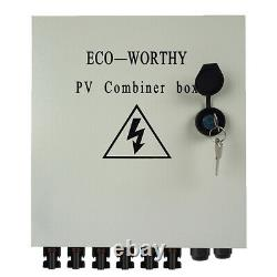 Eco 1600w 2400w 3600w Watt 24v / 48v Volt Kit Panneau Solaire Pour La Maison Rv Fifthwheel