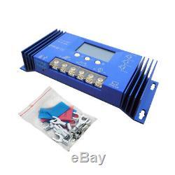 Eco 1kw 1200w Watt Panneau Solaire Kit Pv Box Combinateur 60a Controller Pour Cabin Accueil