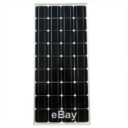 Eco-worthy 200w 120w 100w 100 Watt Monocristallin Panneau Solaire 12v Rv Marine