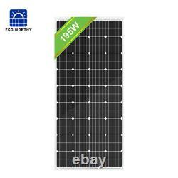 Eco-worthy 200w 120w 100w 100 Watt Monocrystalline Solar Panel 12v Rv Marine Us