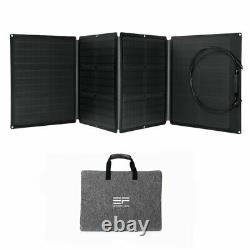 Ecoflow Efsolar110n Panneau Solaire Pliant Étanche Nouveau 110watts