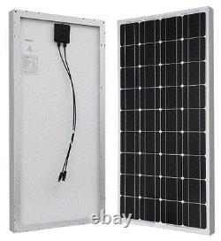 Excellent Panneau Solaire Photovoltaïque Renogy Monocrystalline 100 Watts 12 Volts