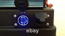 Générateur Solaire 2000 Watt Avec Batterie 100ah Et Panneau Solaire 100 Watt
