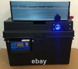 Générateur Solaire 2000 Watt Avec Batterie 100ah Et Panneau Solaire De 100 Watts