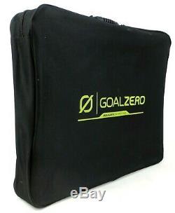 Goal Zero Boulder 100 Porte-documents, 100 Watt Panneau Solaire Monocristallin