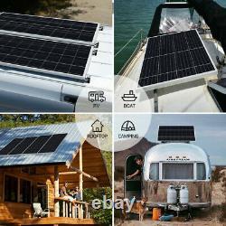 Hqst 190w Watts 12v Mono Solar Panel 200w Pour Rv Car Boat Camping Off Grid