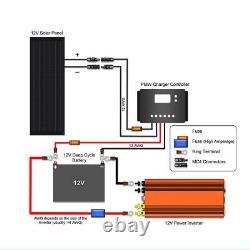 Hqst 70w Watts 12v Mono Solar Panel High Efficiency Module Camping Rv Boat