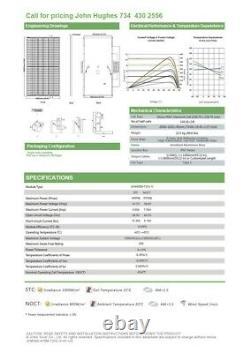 Jinko 400 Watt Mono-perc Half Cell Flambant Neuf Avec Garantie! Jkm400m-h-v