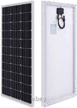 Kit De Démarrage Solaire Monocrystalline Renogy 100 Watts 12 Volts