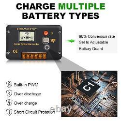 Kit De Panneau Solaire Pliable De 60w Watt 12v Pour La Centrale Électrique, Ordinateur Portatif De Charge De Batterie