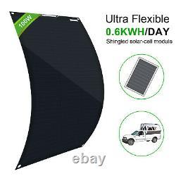 Kit Flexible De Panneau Solaire De 100w 200w 400w 600w Pour La Charge De Batterie Marine De Rv