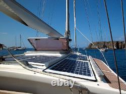 Kit Panneau Solaire- Panneau Pv 390w (2 195) W Watt 195 W + Z Supports + 40a Mppt