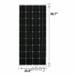 Kit Solaire Riche De 400 Watts Avec Contrôleur Mppt 40a