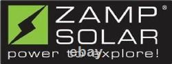 Kit Zamp Solar Kit1010 90 Watt Kit D'expansion De Luxe Monocristallin