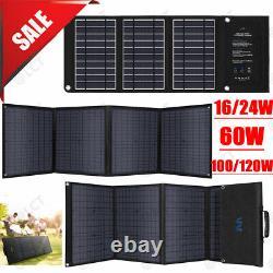 Meilleur 16120w Panneau Solaire 100 Watt Module Monocristallin 12v Camping Rv Marine