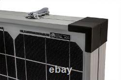 Mighty Max 100 Watt 12v Monocristalline Foldable Solar Suitcase + Contrôleur 10a