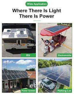 Module Solaire Mono De 300 Watt Hors Système De Grille Panneau Solaire Flexible Motorhome Rv Car