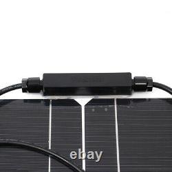 Monocrystallin 400w 18v Panneau Solaire Hautement Flexible Accueil Kit Système Étanche