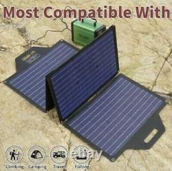 New Tp-solar100 Watt Portable Solar Panel Charge Kit De Charge De Batterie