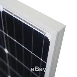 Newpowa 120w Watt 24v Monocristallin Module Solaire