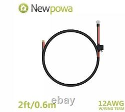 Newpowa 400w Watts 12v Monocrystalline Solar Panel Charging Kit Système Hors Réseau