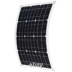Nouveau 600w 300 Watt Monocristallin Pet Solar Panel Kit 18v Rv Chargeur De Batterie De Voiture