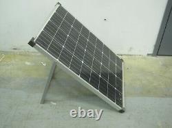 Nouveau Coleman 100 Watt 12 Volt Panneau Solaire Cristallin Avec Support 100w 12v