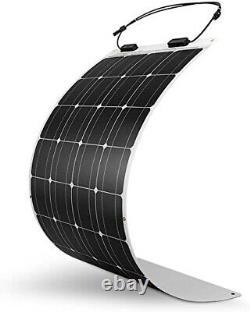 Nouveau Panneau Solaire Monocristallin De 200watt Flexible Solr Hors Réseau Solaire