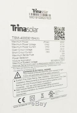 Nouvelle Trina 400w Mono Panneau Solaire 400 Watts Certifié Ul