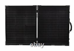 Objectif Zero Boulder 100 Briefcase, 100 Watt Foldable Monocrystalline Solar Panel