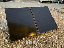 Objectif Zero Boulder 100 Briefcase, 100 Watt Monocrystalline Solar Panel