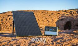 Objectif Zero Boulder 100 Panneau Solaire, 100 Watt Rigide Monocrystalline Solar Panel