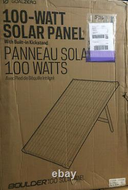 Objectif Zero Boulder 100 Watt Monocrystalline Solar Panel