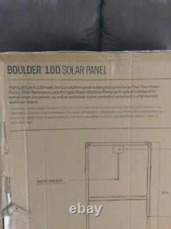 Objectif Zero Boulder 100 Watt Panneau Solaire Monocristallin