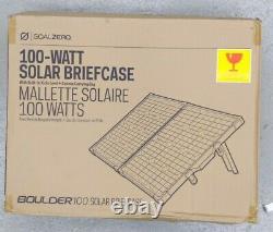 Objectif Zero Boulder 50 Solar Panel 50 Watts With Kick Stand