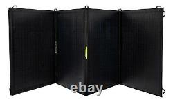 Objectif Zero Nomad 200 Watt Portable Foldable Solar Panel, Monocrystalline, Hpp Usb