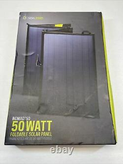 Objectif Zero Nomad 50 Panneau Solaire, 50 Watt Foldable Monocrystalline Solar Panel