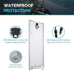 Open Box Renogy 200w Watt 12v Volt Monocrystalline Solar Panel Haute Efficacité