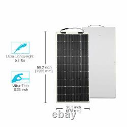 Open Box Renogy 248° Flexible 175w Watt 12 Volts Flexible Mono Solar Panel 175w