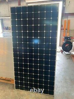 Palette De Panneaux Solaires Sunpower 435 Watt Usagés. Livraison Gratuite Partout Dans
