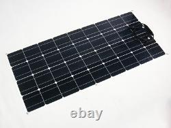 Panneau Solaire De 100 Watts, Flexible, Panneau Solaire Portable, Camping, Préparation, Rv! États-unis