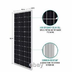 Panneau Solaire De Design Compact Renogy 100 Watt 12 Volt Monocristallin