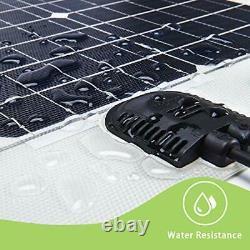 Panneau Solaire Flexible 100w 24v/12v Monocristallin 100 Watt