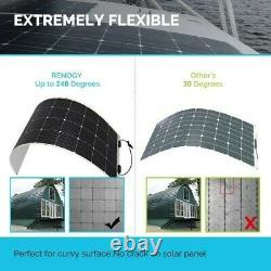 Panneau Solaire Flexible Monocristallin Rénogy 175 Watt 12 Volt