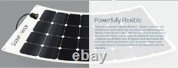 Panneau Solaire Flexible Sunpower De 170 Watts. Haut Rendement Pour Marine, Rv, Camping