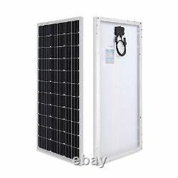 Panneau Solaire Monocristallin Renogy 100 Watt 12 Volt Idéal Pour Le Système Pv Hors Réseau