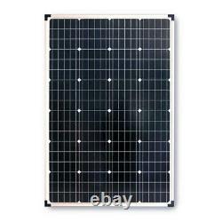 Panneau Solaire Polycristallin 110-watt Avec Onduleur De Puissance 300-watt Et 11 Amp